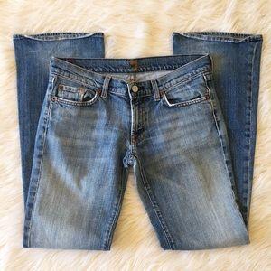 7FAMK|Vintage Bootcut Jeans